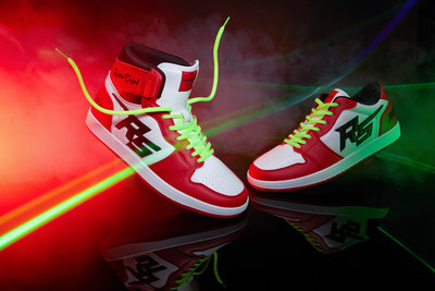 ROCKSTAR MEN HIGH TOP - INFERNO RED $50 (PRNewsfoto/Rockstar Original)