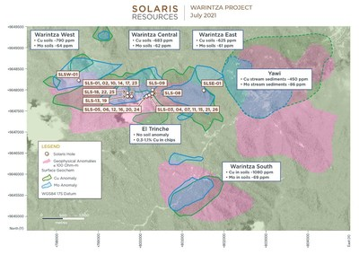 Figure 2 – Plan View (CNW Group/Solaris Resources Inc.)