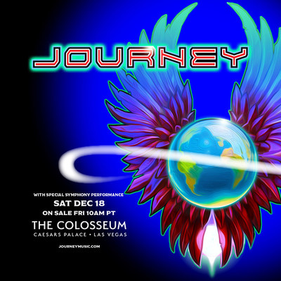 Journey at The Colosseum at Caesars Palace Announced