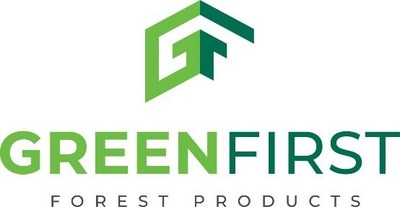 GreenFirst Logo (CNW Group/GreenFirst Forest Products Inc.)