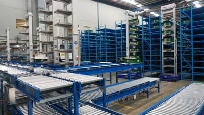 Booktopia's Distribution Center in Lidcombe, NSW