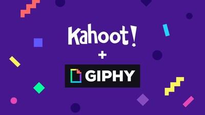 Kahoot! + GIPHY hero image (PRNewsfoto/Kahoot!)