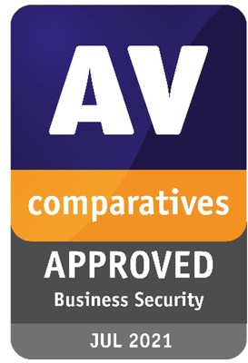 AV-Comparatives - Certificate Enterprise Cybersecurity Protection