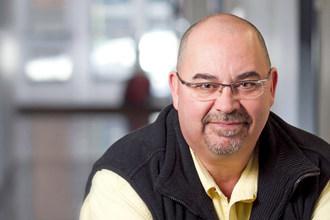 Steve Bissonnette, professeur au Département Éducation. (Groupe CNW/Université TÉLUQ)