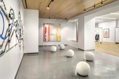 Art Gallery by One Line Design Studio at Atelier, Dallas