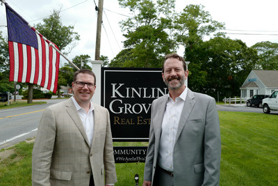 Jeffrey Hayton, Regional President of Compass New England with Michael Schlott, President of the Randall Group of Companies (Kinlin Grover Compass, Randall Realtors Compass, Page Taft Compass).