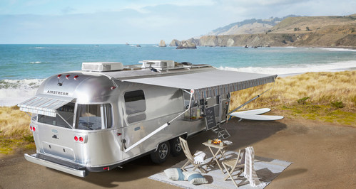 Airstream® Launches Pottery Barn Special Edition Travel Trailer