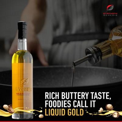 Strength Genesis Australian Macadamia Nut Oil | Rich Buttery Taste, Foodies Call it Liquid Gold | Best Mac Nut Oil