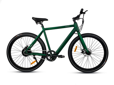 The Aero comes in forest green or smoke gray
