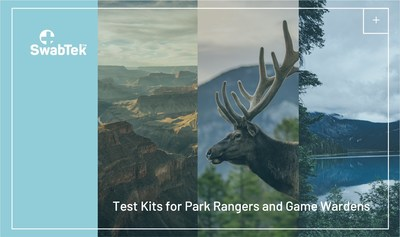 SwabTek kits are designed for the dynamic environments of national parks.