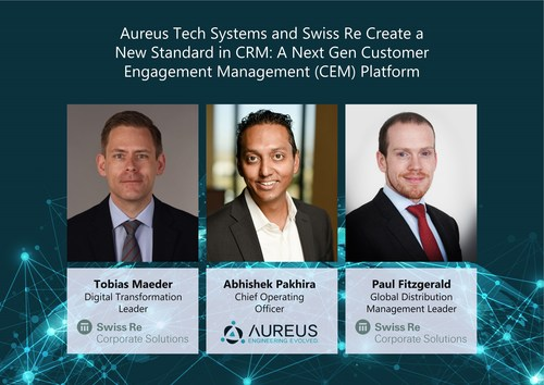 Swiss Re Corporate Solutions Transforms its CRM into a 360-degree, Next-generation CEM Solution with Aureus Tech Systems.
