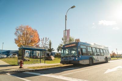 L'autobus est à 1$ à Laval pendant l'alerte smog le 20 juillet 2021. (Groupe CNW/Société de transport de Laval)