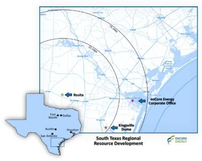 South Texas Regional Resource Development (CNW Group/enCore Energy Corp.)
