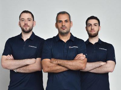 Order left to right: Peleg Hadar, Sr. Security Researcher, SafeBreach, Tomer Bar, Director of Security Research, SafeBreach, Eran Segal, Security Researcher, SafeBreach