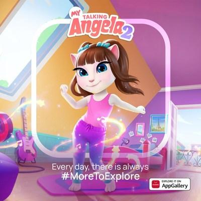 My Talking Angela 2 agora está disponível na AppGallery