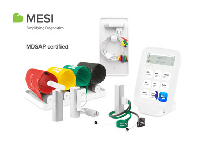 MESI mTABLET MDSAP certified (PRNewsfoto/MESI)