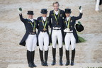 German Olympic Dressage team on the way to make it a fabulous 14