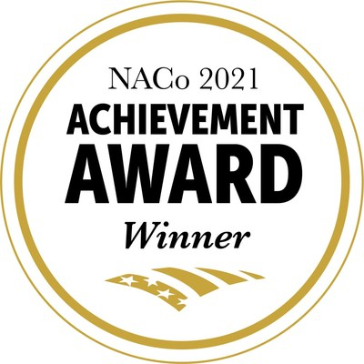 Henrico Virginia announced today that it has been recognized by The National Association of Counties (NACo) with the 2021 NACo  Achievement Award for its innovative 'Henrico Internet Infrastructure' Webinar Series in the Community and Economic Development category.