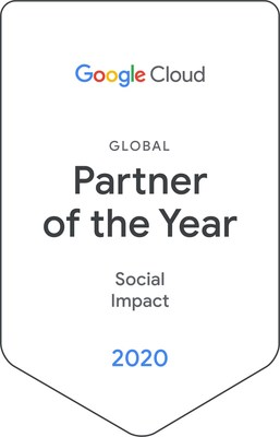 2020 Google Cloud Social Impact Partner of the Year - Healthcare