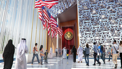 USA Pavilion Entry