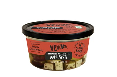 Vevan Expands Plant-Based Line With Marinated Cheese