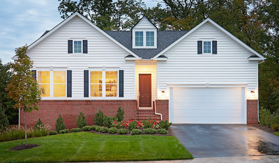 The Decker is one of two new Richmond American models debuting at Mayberry at Stewartstown in York County, PA.