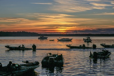 The 2022 Bassmaster Elite Series schedule features nine events across seven states.