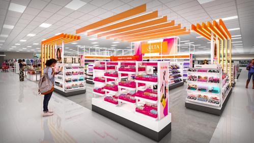 Ulta Beauty at Target Rendering
