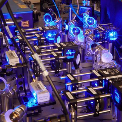 Atom Computing's first-generation quantum computing system, Phoenix.