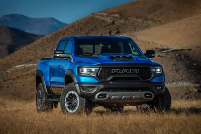 The 2021 Ram 1500 TRX has been named Official Winter Pickup Truck of New England while the 2021 Chrysler Pacifica and 2021 Jeep® Gladiator earned class honors at the annual New England Motor Press Association (NEMPA) winter vehicle competition.