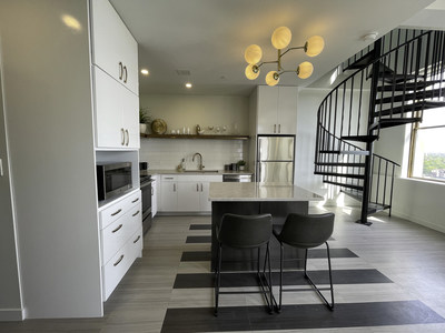 The Kahn apartment interior