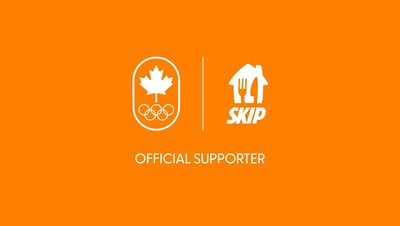 SkipTheDishes a été nommée l'application de livraison de nourriture officielle du Comité olympique canadien en prévision des Jeuxolympiques de Tokyo2020 (Groupe CNW/SkipTheDishes)