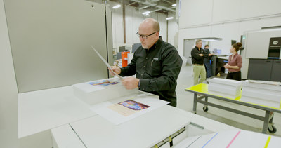 Linemark, Inc. installed the varioPRINT iX3200 to meet the demand for its evolving offering