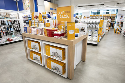 Bed Bath & Beyond is renovating its stores to better connect with customers. Gone are a dizzying disarray of merchandise stacked high that provided shoppers with 'shopping paralysis', and replaced with lower sightlines, wider aisles and neatly arranged products that inspire customers with a residential experience to help them shop.