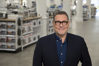 Mark Tritton, President and CEO of Bed Bath & Beyond, at the omnichannel retailer's newly designed flagship store in New York City.