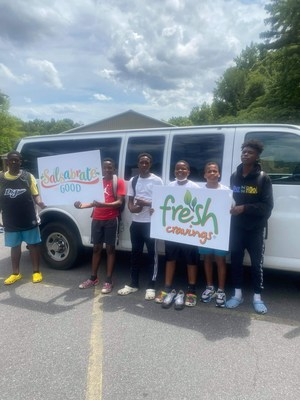 Team TruBlue's Salsabrate The Good funds enabled the organization to buy a new van for its youth mentorship programs in Charlotte, N.C.