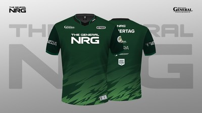 The General NRG Rocket League Team to Debut New Jersey Design for Season XI