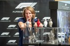 Freddie Hunt enjoys action packed Formula 1® Pirelli British Grand Prix™ launching with Designer Parfums the new F1® Fragrances Race Collection in Silverstone