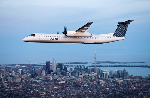 Porter Airlines is introducing more payment options for customers when purchasing flights on the company's website. (CNW Group/Porter Airlines)