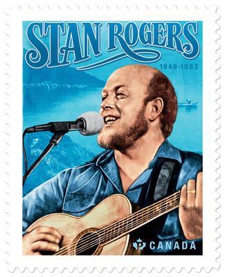 Timbre de Stan Rogers (Groupe CNW/Postes Canada)