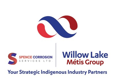 Willow Lake Métis Group and Spence Corrosion Services Ltd. will increase support to the corrosion protection of tanks, vessels, and piping, servicing the Wood Buffalo Region while generating economic opportunities for the Willow Lake Métis Nation. (CNW Group/Willow Lake Métis Group)