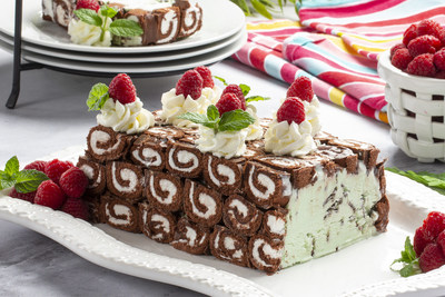 Pinwheel Ice Cream Cake