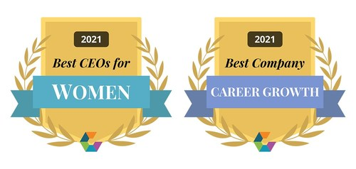 Best CEOs for Women; Best Companies for Career Growth
