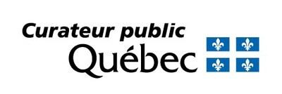 Logo du Curateur public du Québec à l'occasion de la cérémonie de clôture des activités entourant le 75e anniversaire de fondation du Curateur public du Québec. (Groupe CNW/Curateur public du Québec)