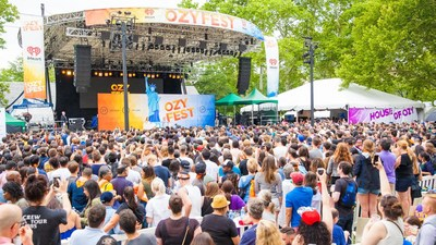 OZY Fest has previously been held in New York City's Central Park and sold out 100,000 tickets.