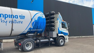 Hyzon-produced hydrogen tank storage systems, for its fuel cell-powered commercial vehicles.