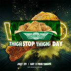 Thighstop's Take on National Chicken Wing Day: 'Save a Wing, Eat a Thigh'