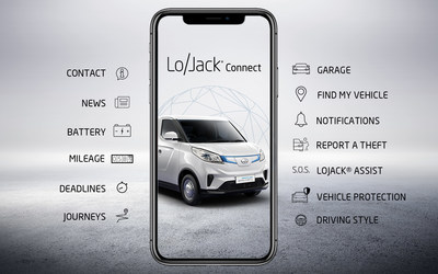 The LoJack® Connect app
