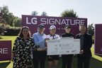 LG SIGNATURE Concludes Charity Auction Benefiting Families...