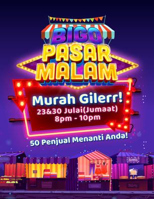 """Bigo Live Brings th Night Market Home with """"Bigo Pasar Malam"""""""